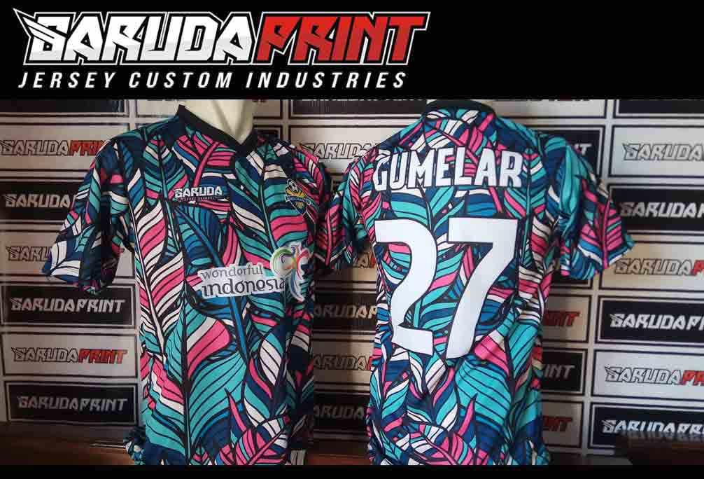 Jasa Pembuatan Kaos Futsal Full Printing di solo