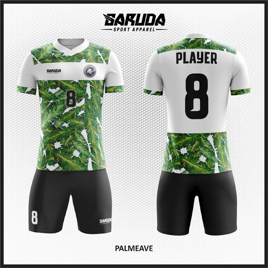 desain baju futsal gambar daun paling keren