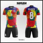 desain baju futsal keren gambar kubus