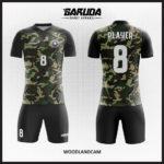 desain baju futsal motif army keren