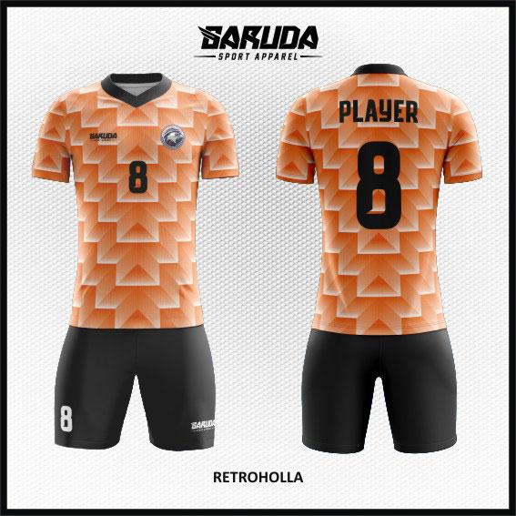 desain baju futsal terbaru gradasi warna
