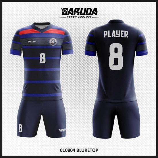 desain jersey futsal biru terbaik