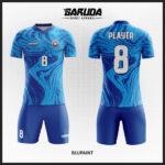 desain kaos futsal biru muda