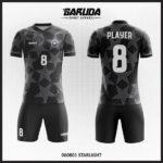 desain kaos futsal hitam bintang