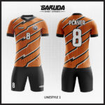 desain kaos futsal warna orange