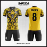 desain kostum futsal gambar batik