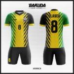 desain kostum futsal keren kuning hijau