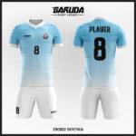 desain seragam futsal biru muda