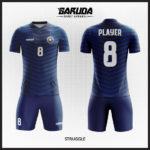 desain seragam futsal garis-garis biru
