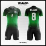 desain seragam futsal hijau hitam