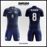 desain seragam futsal terkeren warna biru