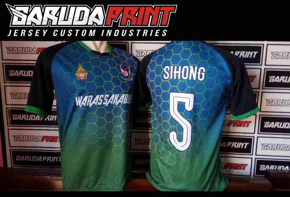 Jasa Pembuatan Kaos Futsal di Solo Nomer Satu