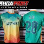 Jasa Pembuatan Kostum Futsal di Solo Desain Sendiri printing