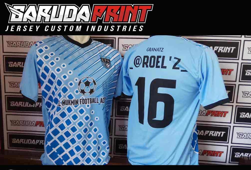 Konveksi Jersey Futsal Printing di Solo Terpercaya