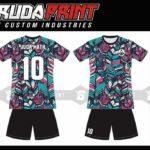 Bikin Kostum Futsal Printing di Solo Berbagai Motif Desain
