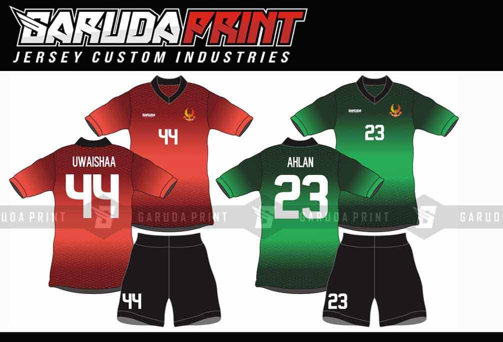 Bikin Jersey Futsal Printing di Solo Banyak Pilihan Warna
