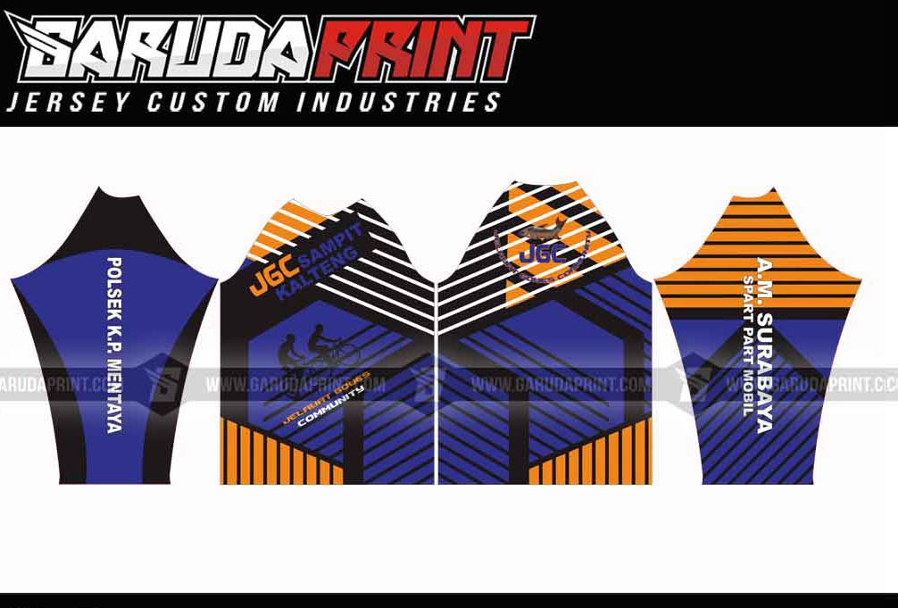 Jasa Pembuatan Baju Sepeda Custom Area Solo