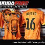 Jasa Pembuatan Seragam Futsal di Solo Berkualitas