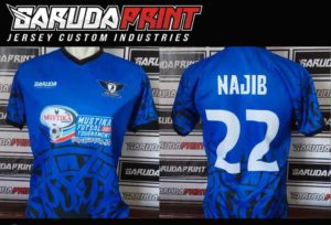 Buat Kostum Futsal Printing di Solo Bahan Nyaman Digunakan