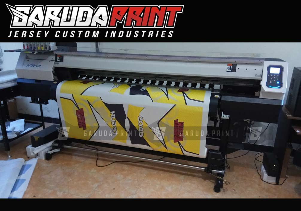 Garuda Print, Konveksi Tempat Bikin Kaos Sepeda di Solo