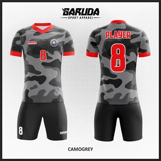 desain baju futsal army abu