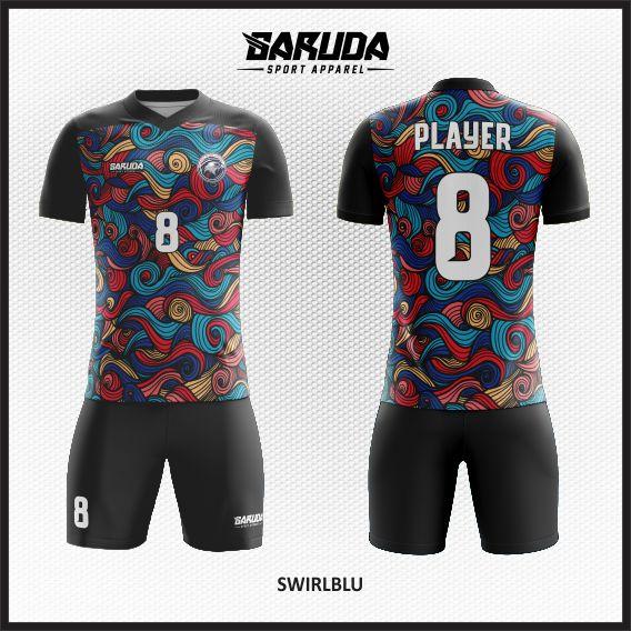desain baju futsal batik keren