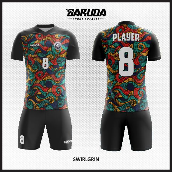 desain jersey futsal batik printing garuda print