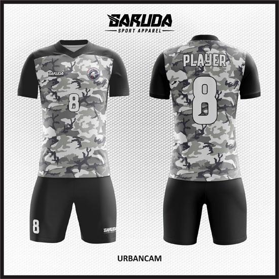 desain kostum bola futsal army di solo